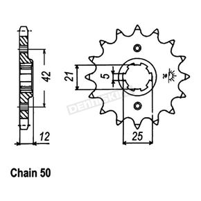 JT Sprockets Sprocket - JTF571.17