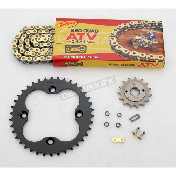 Regina 520 Quad Z-Ring Chain and Sprocket Kit - 5QUAD094KHO