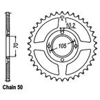 38 Tooth Sprocket - JTR278.38