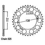 Rear Sprocket - JTR1304.38