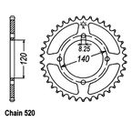 39 Tooth Sprocket - JTR1413.39