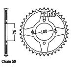 46 Tooth Sprocket - JTR824.46