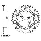 Sprocket - JTR853.40