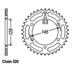47 Tooth Sprocket - JTR855.47