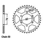 45 Tooth Sprocket - JTR856.45