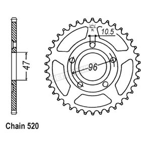 JT Sprockets 40 Tooth Sprocket - JTR1353.40