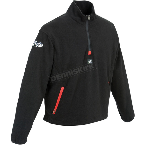 Joe Rocket Mens Honda Racing Fleece Pullover - 9071-6006