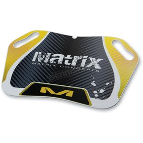Matrix Yellow M25 Pit Board - M25-104