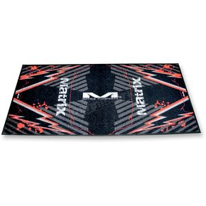 Matrix Concepts M40 Red Carpeted Mat - M40-102