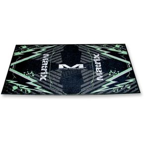 Matrix Concepts Green M40 Carpeted Mat - M40-105