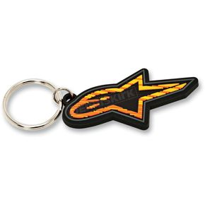 Alpinestars Orange Spencer Keychain - 1013-9403340