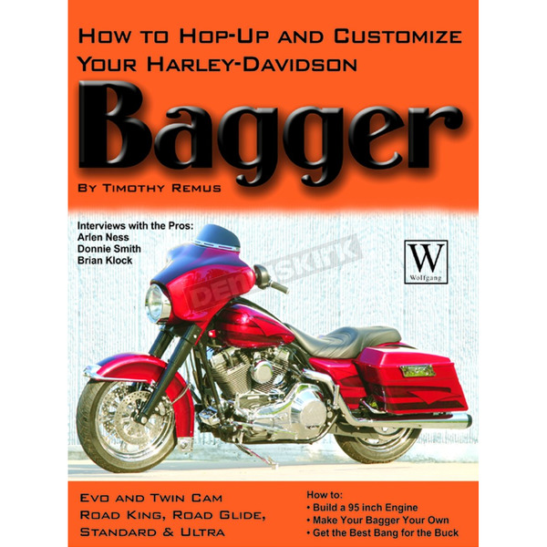 Wolfgang Publications How to Hop-Up and Customize your Bagger - 43061