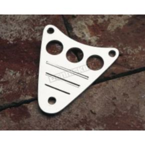 Cobra Billet Fluted Dash Plaque - 05-0086