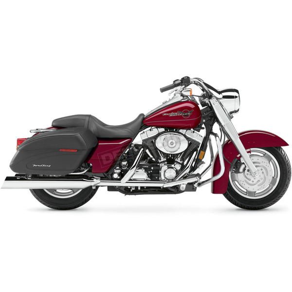 Cobra 4 in. Slip-On Upper-Cut Mufflers - 6201UC