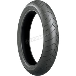 Bridgestone Front Battlax BT-023 120/70ZR-17 Blackwall Tire - 144050
