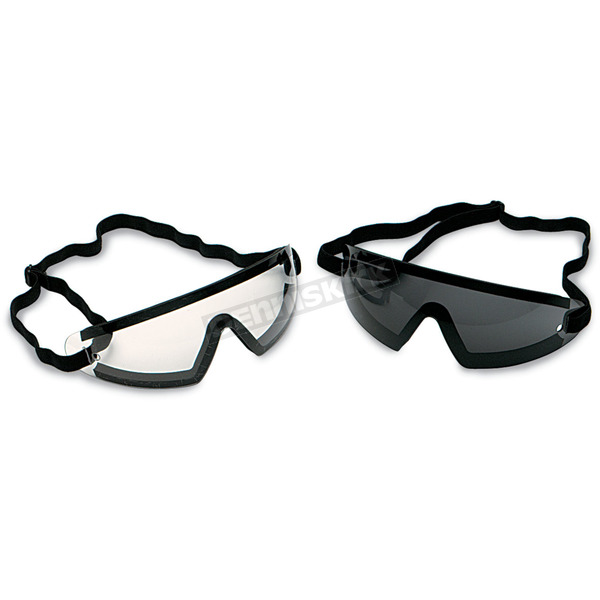 Bobster Wrap Goggles w/Clear Lens - BW201C