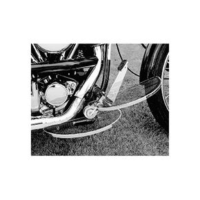 Custom Chrome Oval Floorboard Kit - 26569