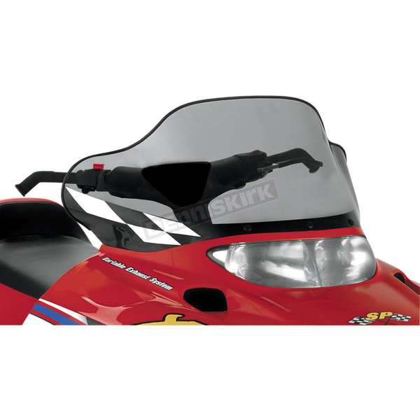 15 in. Medium Smoke/Black Windshield - 11533