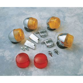 Chris Products Early-Style Single Filament Turn Signal Kit - 0006