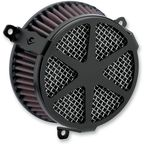 Black Spoke Air Cleaner Kit - 606-0100-04B