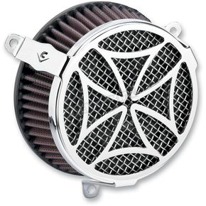 Cobra Chrome Cross Air Cleaner Kit - 606-0103-02