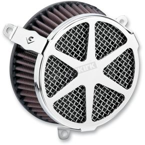 Cobra Chrome Spoke Air Cleaner Kit - 606-0100-04