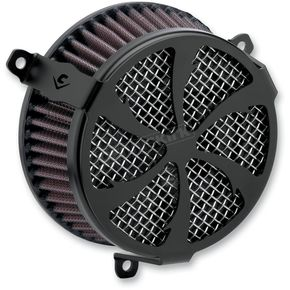 Cobra Black Swept Air Cleaner Kit - 606-0100-01B