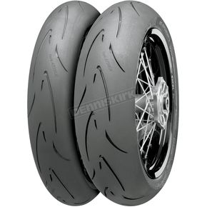 Continental Front Conti Attack SM 120/70HR-17 Blackwall Tire - 02441130000