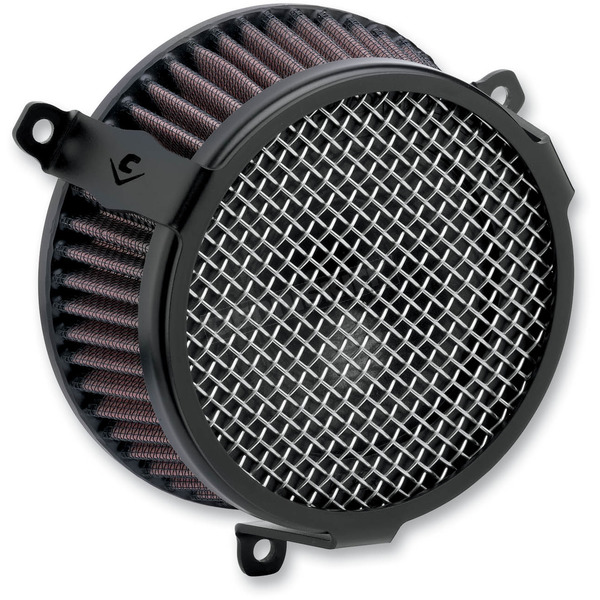 Cobra Black Plain Air Cleaner Kit - 606-0102-03B