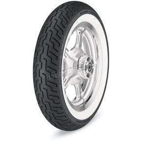 Dunlop Front D402 Harley-Davidson Series MT90H-16 Wide White Sidewall Tire - 3022-91