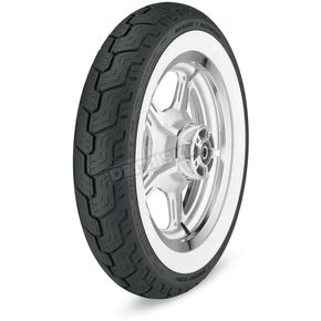 Dunlop Rear D402 Harley-Davidson Series MU85HB-16 Wide White Sidewall Tire - 3019-23