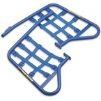 Blue Steel Nerf Bars w/Blue Webbing - 54-4330