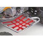 Alloy Nerf Bars w/Red Webbing - 60-2100