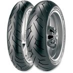 Front Diablo Rosso II 120/70ZR-17 Blackwall Tire - 2148800