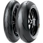 Front Diablo SuperCorsa SP V2 120/70ZR-17 Blackwall Tire - 2166900