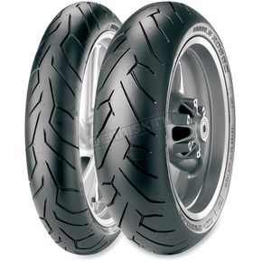 Pirelli Front Diablo Rosso II 120/70ZR-17 Blackwall Tire - 2148800