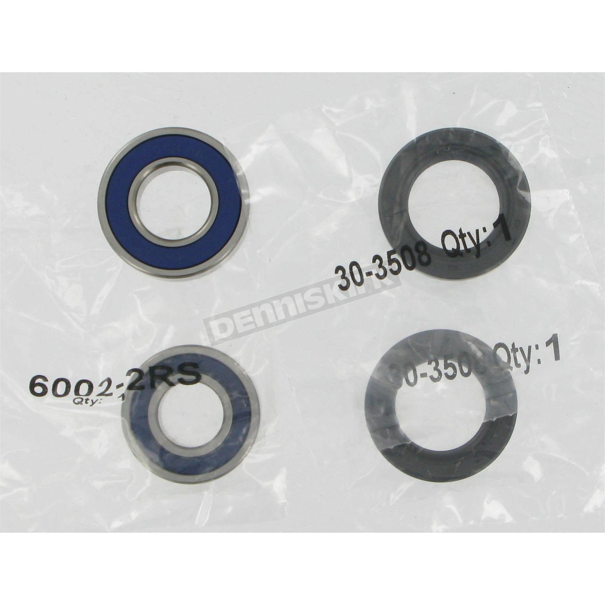 Bombardier DS 90 2X4 2003-2005 ATV Front Wheel Bearing and Seal Kit 25-1395