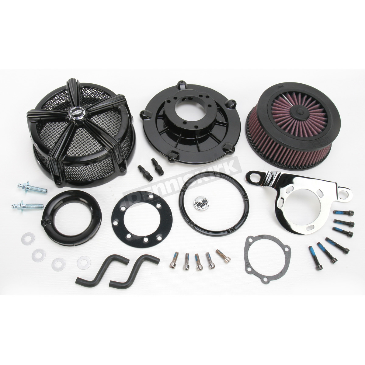 Kuryakyn Hi-Five Mach 2 Air Cleaner Black 9553