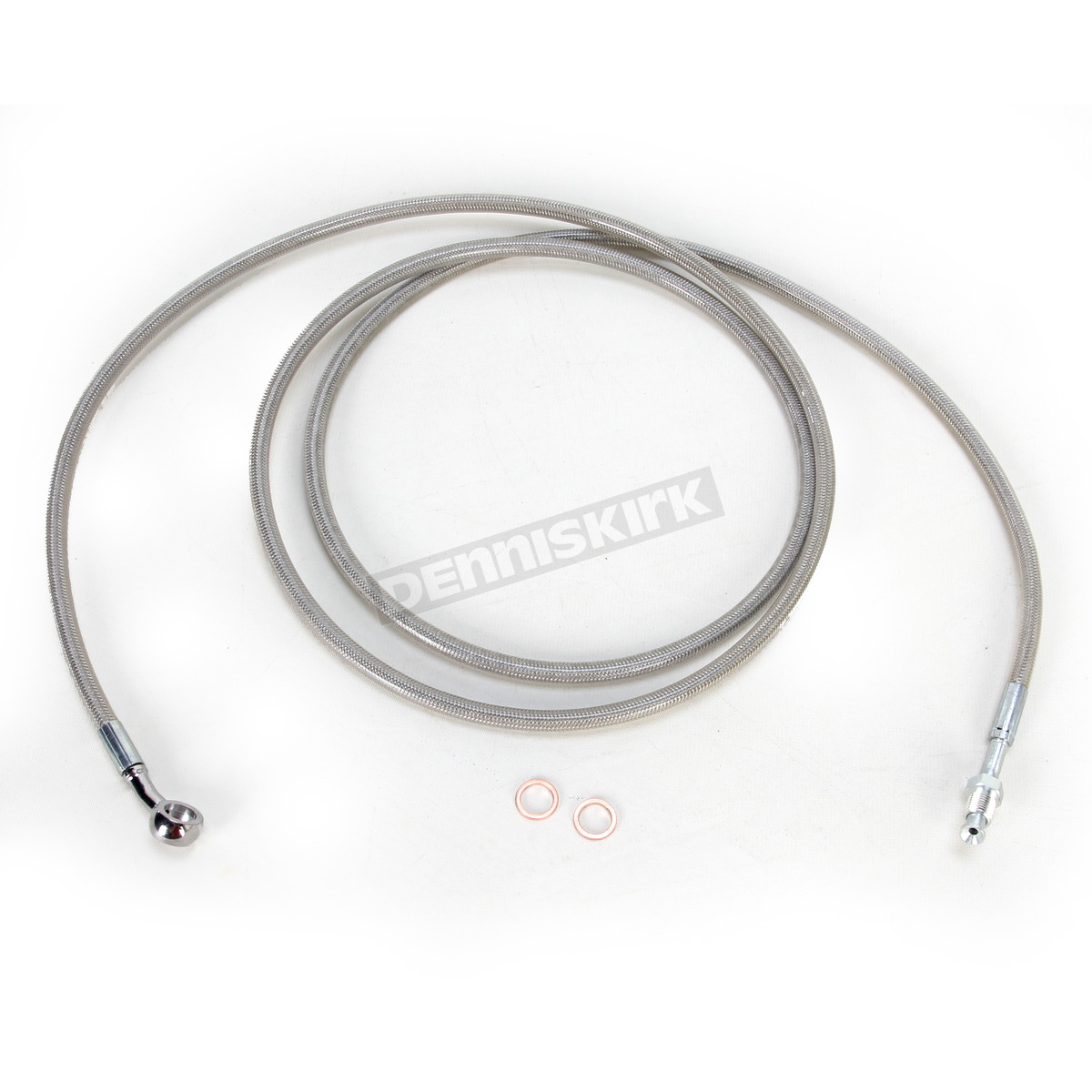 La Choppers Stainless Steel Braided Hydraulic Clutch Line Kit For Wire Harness Use With 12 14 Inch