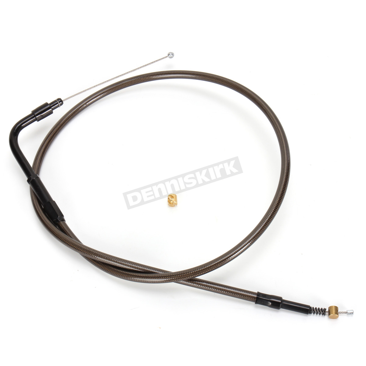 La Choppers Complete Midnight Cable Line 12in-14in Kit Harley