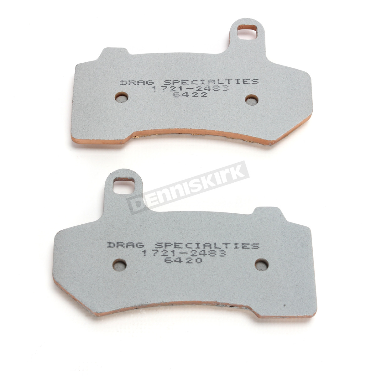 Rear Brake Pads Harley Touring /& V-Rod Drag Specialties Premium Sintered Front