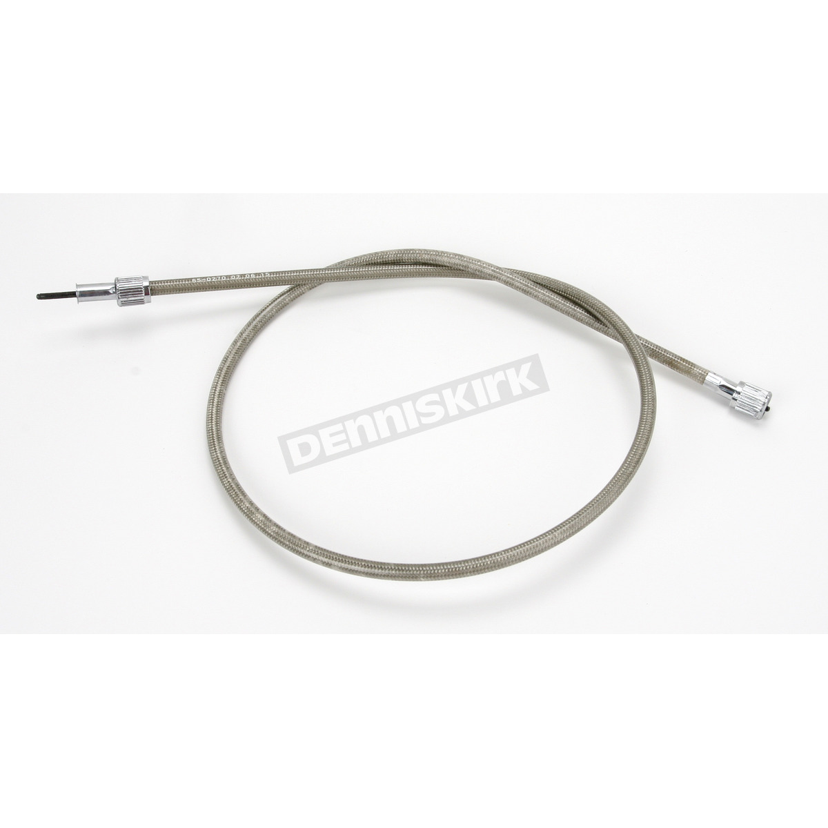 Armored Cable Stainless : Motion pro in armor coat braided stainless steel