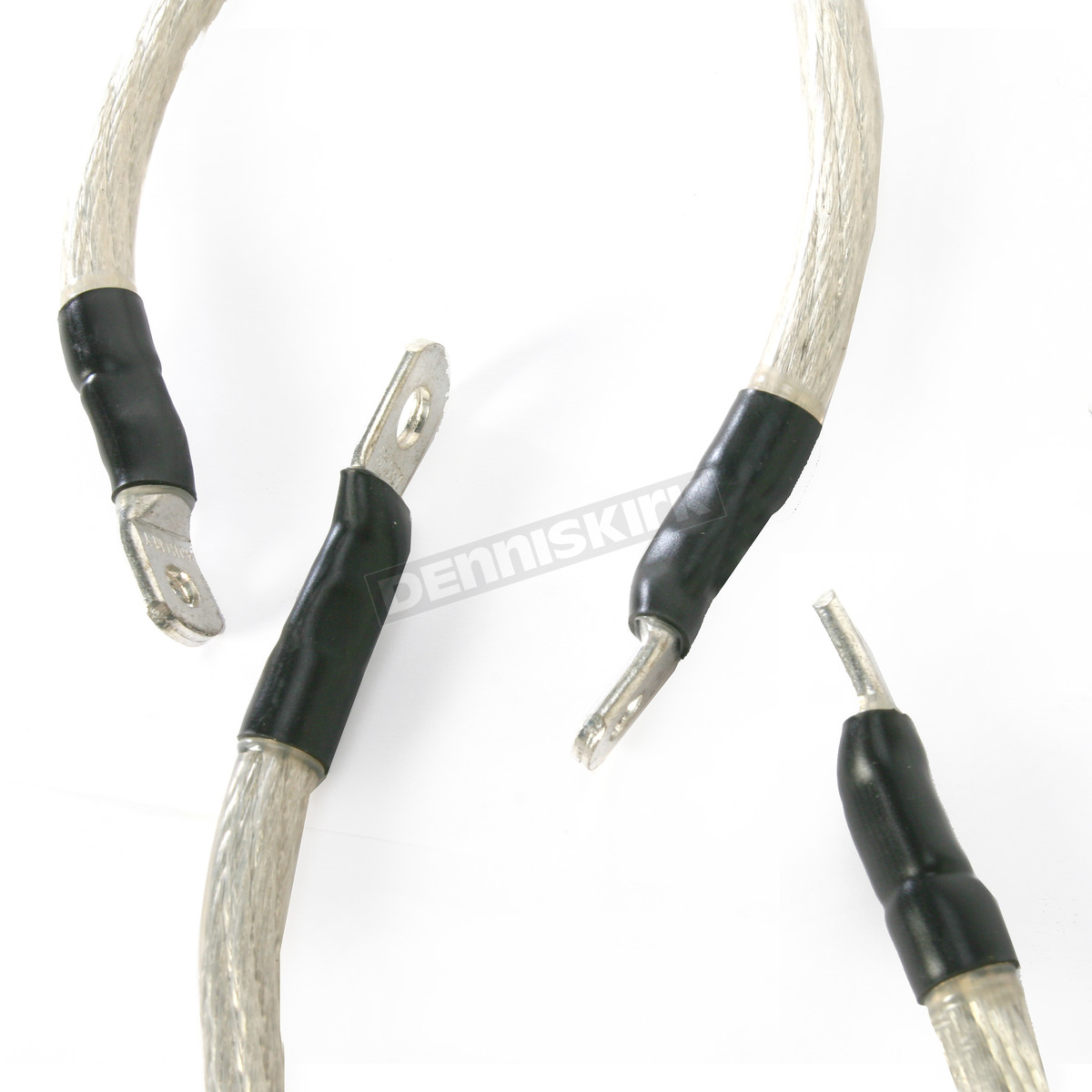 Drag Specialties Clear Battery Cable Kit - 2113-0301 Harley-Davidson ...