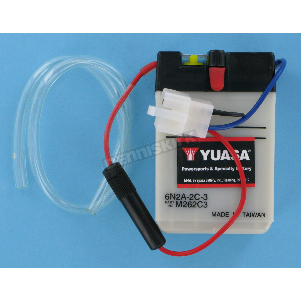 Yuasa Conventional 6 Volt Battery 6n2a 2c 3 Dirt Bike Motorcycle Car Batteries In Series Also Wiring