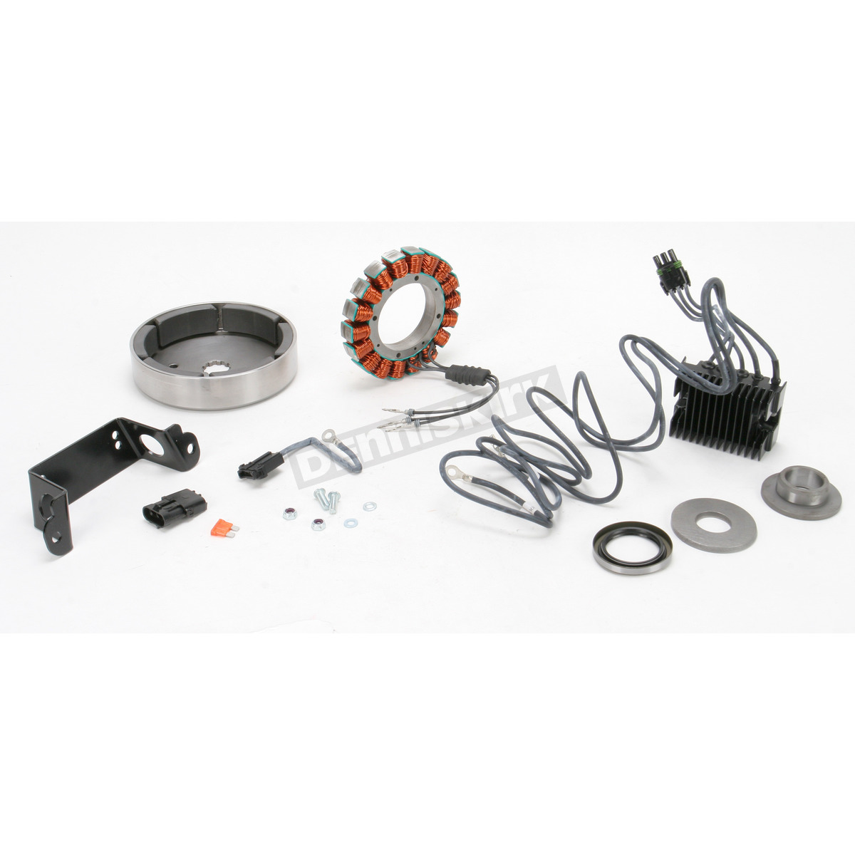 Compufire 40 Amp 3 Phase Charging System 55570 Harley Davidson Compu Fire Ignition Wiring Diagram