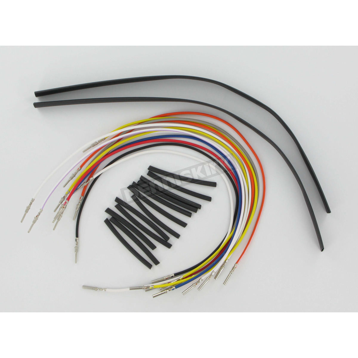 Novello 4 in. Handlebar Wire Harness Extension Kit - NIL-WH4 Harley on harley davidson wiring harness kit, cooling fan wiring harness, harley motorcycle helmet kit diagram, harley sportster wire schematics, harley speedometer wiring diagram 2012,