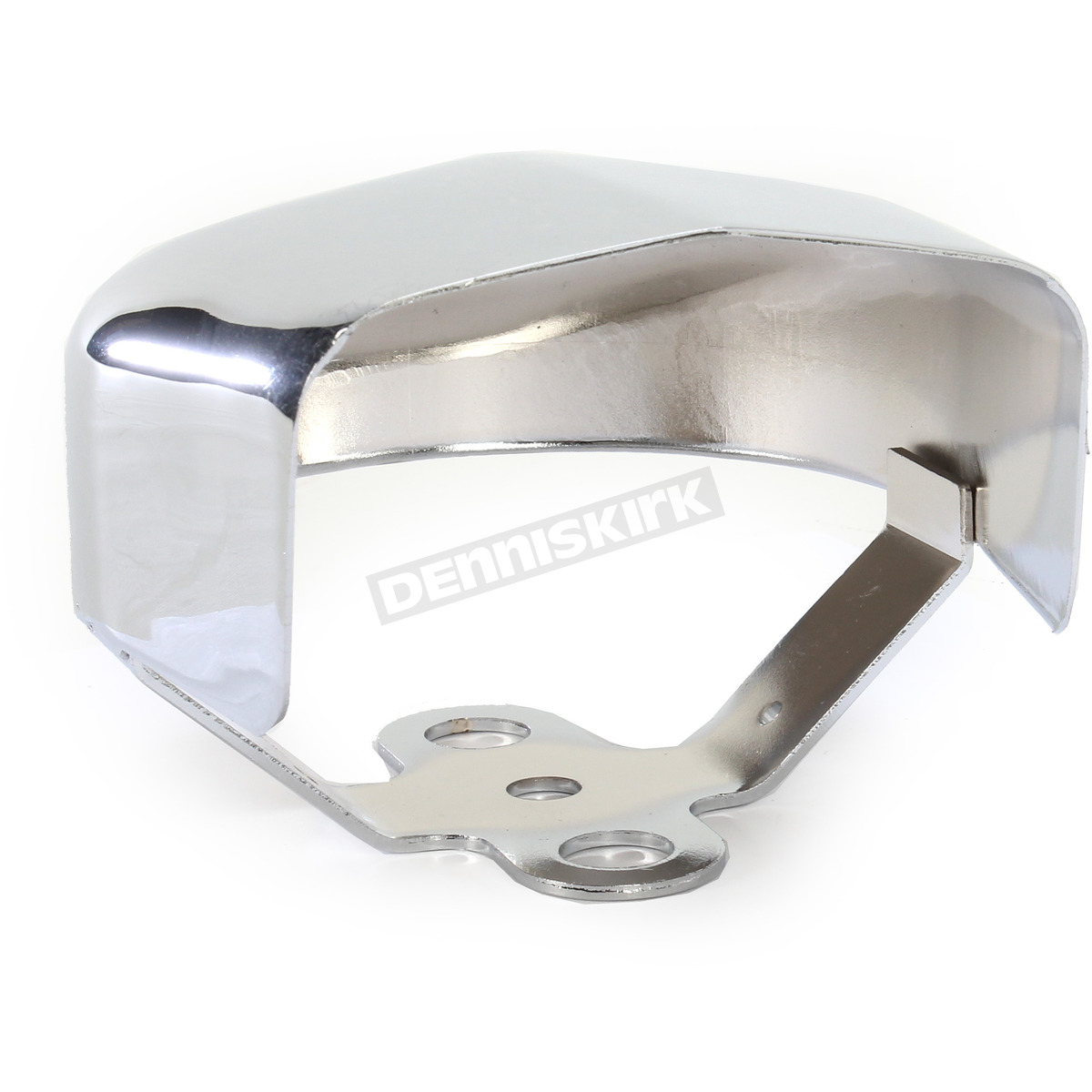 2107-0196 Drag Specialties Horn Cover Kits and Mounting Brackets Chrome Cover