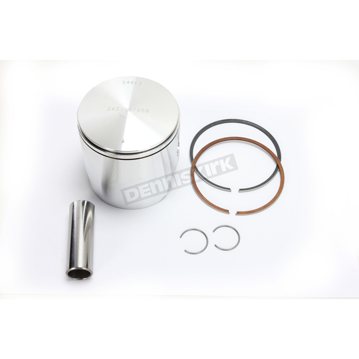 Motorcycle Engine Parts 50 Cylinder Bore Size 48 5mm: Wiseco High Performance Piston