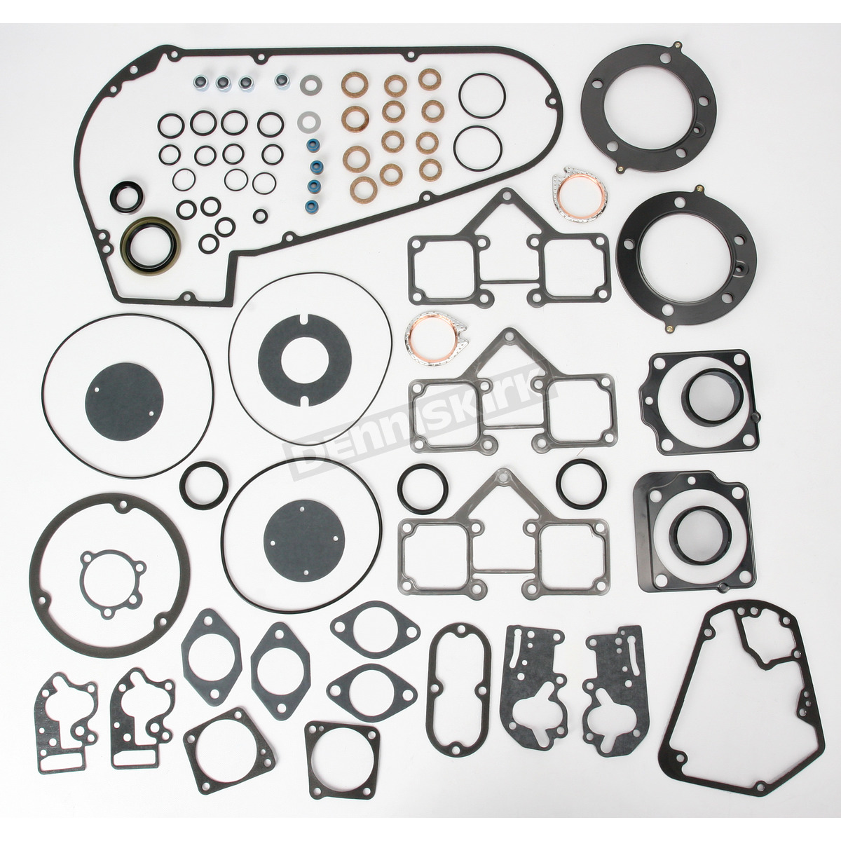 Extreme Sealing Technology (EST) Complete Gasket Set for 74 in  and 80 in   Shovelhead 4-Speed - C9964