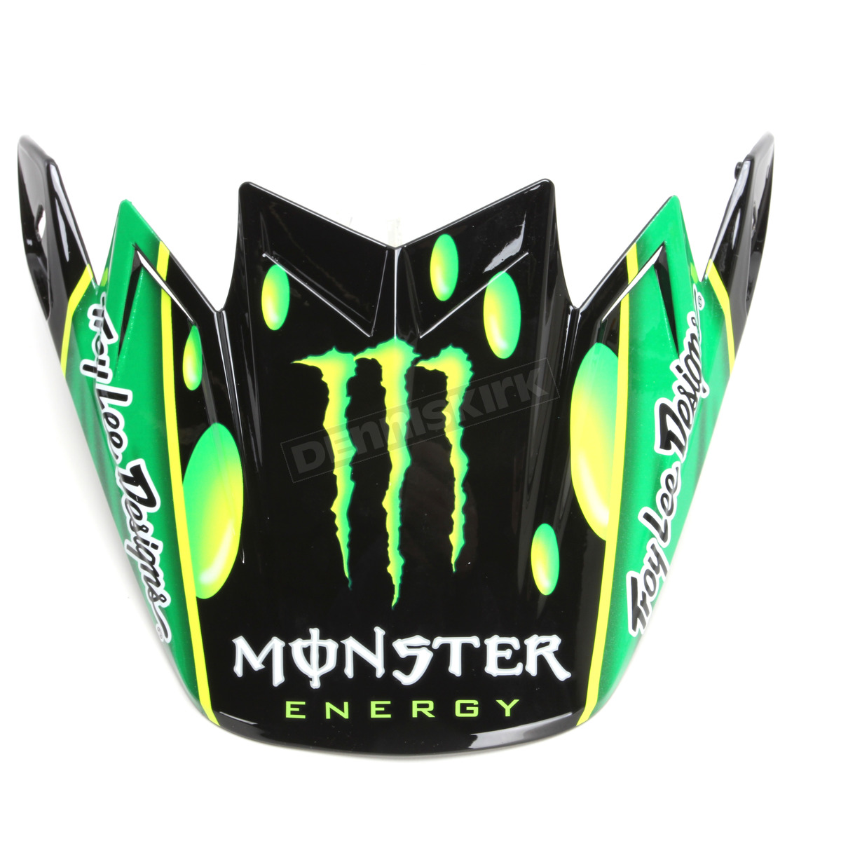 Dirt Bike Helmet With Visor >> Bell Helmets Green Black White Replacement Visor For Moto 9 Flex